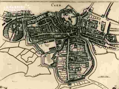 Plan de Caen