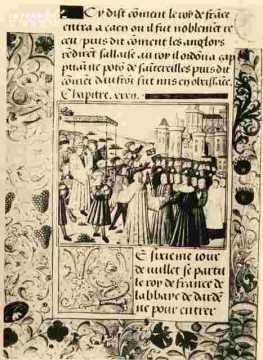Entrée de Charles VII à Caen