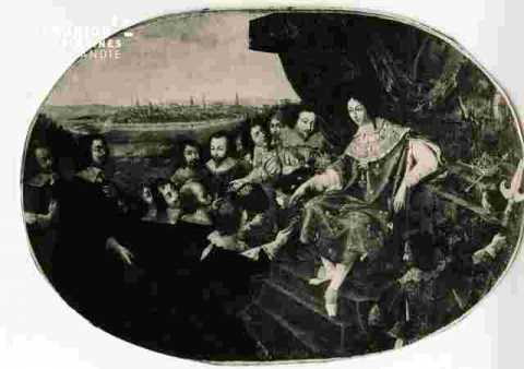 Ls Bourgeois de Caen remettent les clés à L XIII