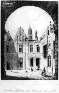 Ancien hotel de ville (d'Escoville)