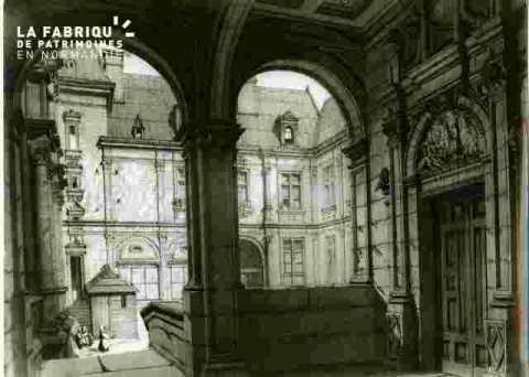Hotel d'Escoville, lanternes