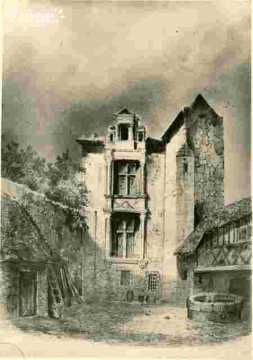 Anciene tour près de l'église de Vaucelles