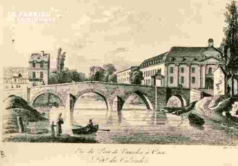 Pont de la rue Saint Laurent