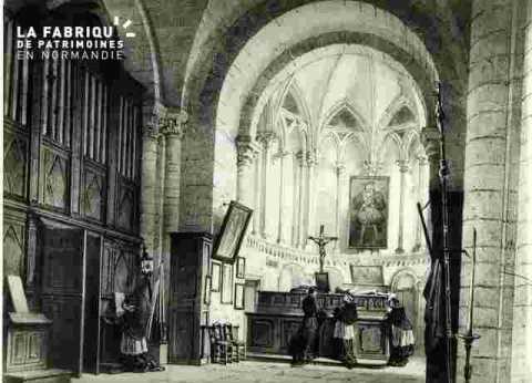 Abbaye de Saint Etienne.Sacristie
