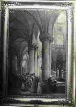 """Abbaye de Saint Etienne """""""".Le pain bénit""""""""."""