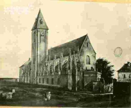 Vieux Saint Gilles et son cimetière