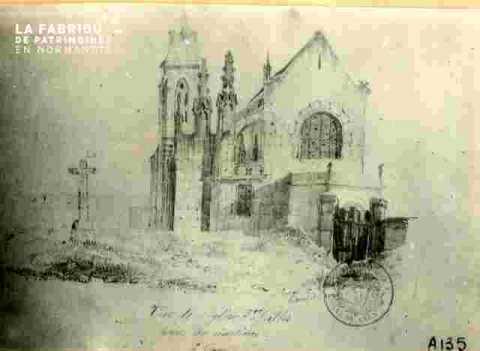 Vieux Saint Gilles près de son cimetière