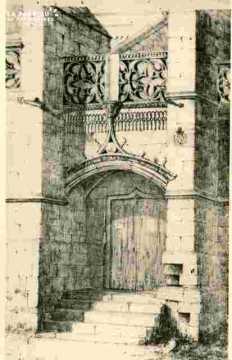 Vieux Saint Gilles, porte