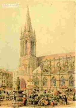 Eglise Saint Pierre  colorié