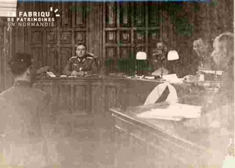 Procès L.Degrelle à Caen