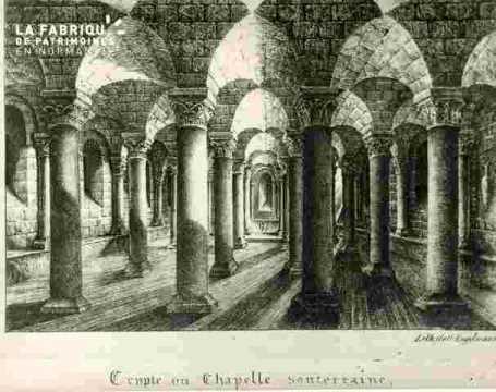 Crypte ou Chapelle souterraine (Abb aux Dames)
