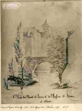 Saint Jean et le pont Saint Louis