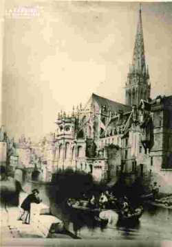 Saint Pierre .Abside et Odon