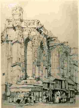 Saint Sauveur, abside