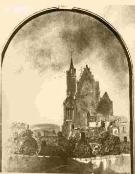 Saint Michel de Vaucelles l'arrière
