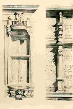 Hotel d'Escoville, fenêtres