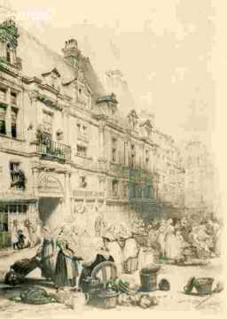 Hotel d'Escoville, Entrée
