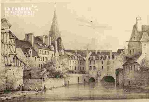 Le pont Saint Pierre et horloge+ note et dates