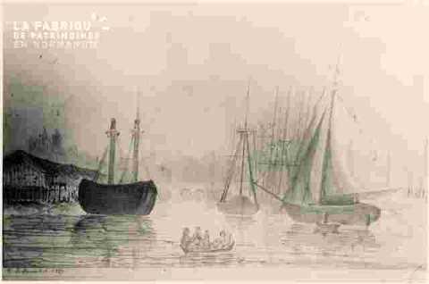 Bassin Saint Pierre et entrée du canal