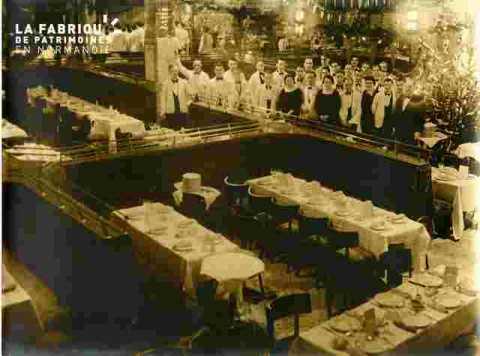 Foire, Personnel du restaurant