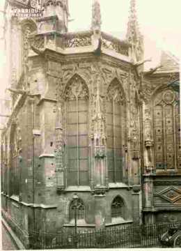 Saint Pierre, abside et pinacles