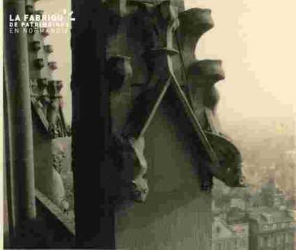 Saint Etienne le vieux vu de la tour lanterne