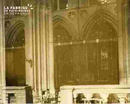 Saint Sauveur, absides intérieur