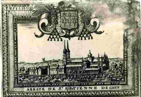 Abbaye de Saint Estienne, très abimé