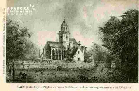 Abbaye de Saint Estienne et le lycée
