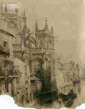 Saint Pierre .Chevet et Odon, très abimé