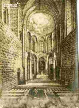 Abbaye aux dames, chevet, abimé