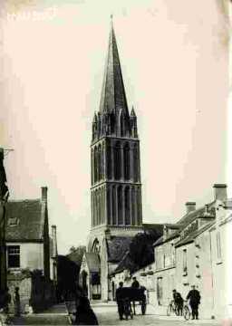 Bernières.Le clocher, cf I.5-2