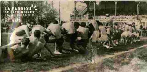 Leçon d'Education Physique au Stade Hélitas, t.a