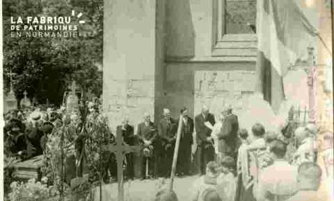 Enterrement d'un prêtre