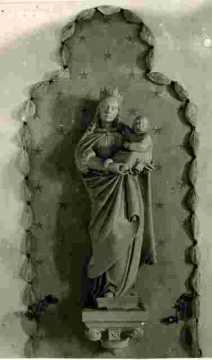 Porche avec Vierge