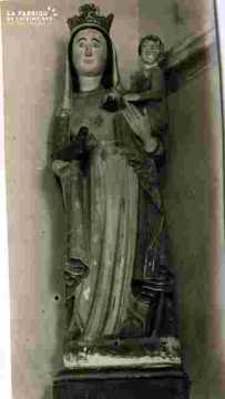 Vierge en majesté