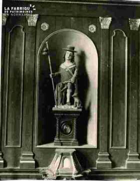 Statue de Saint Ouen