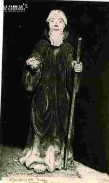 Statue de Ste  Barbe