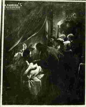 Saint Augustin au donateur