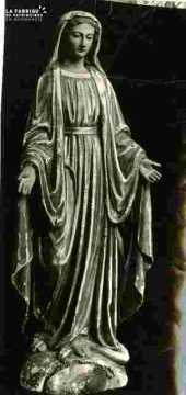 Vierge en bois