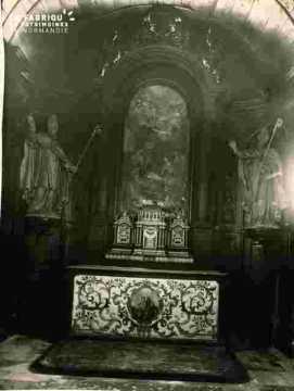 Culs de lampe de l'autel Saint Nicolas