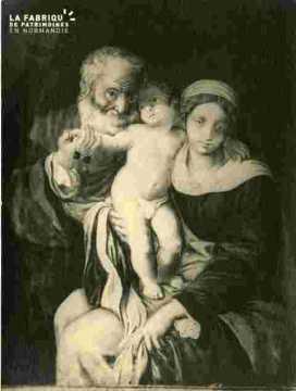Saint Sauveur le vieux?, sainte famille