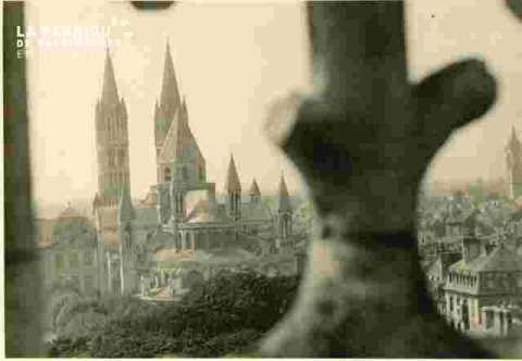 Saint Etienne vue de Saint Etienne le vieux