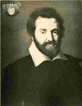 Portrait de F.Malherbe, père du poète, annoté