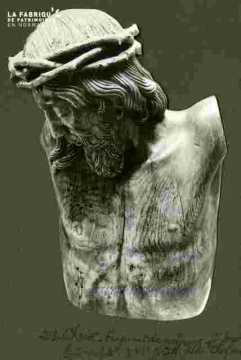 Christ, tête et buste, B sculp XVIè
