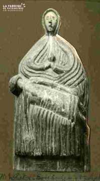 Vierge à l'enfant XVIè  Pierre