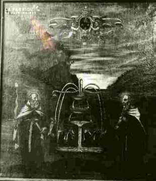 ChriSaint en croix.Bois XVII è
