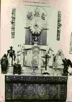Parement d'autel, broderie XVIè