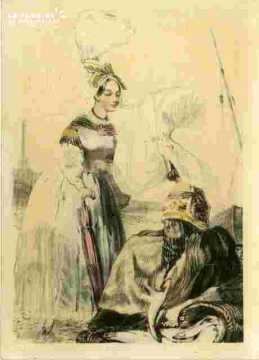 Colorié-Femmes de Barfleur (50)
