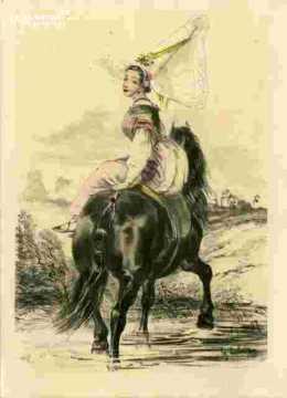 Colorié-Femmes de Grandville (50)